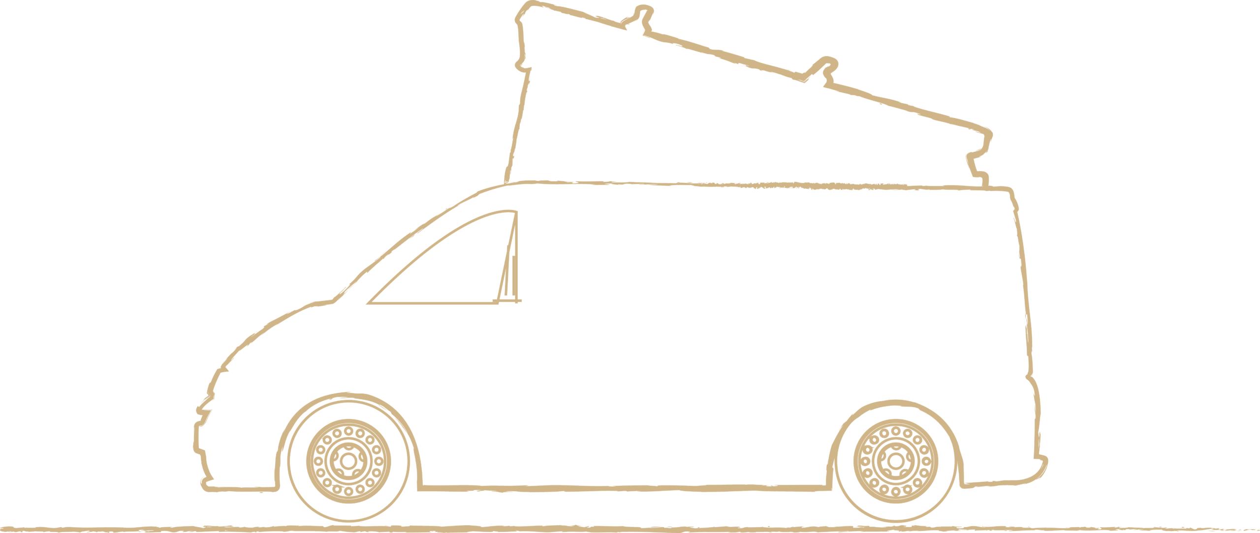 campervan outline